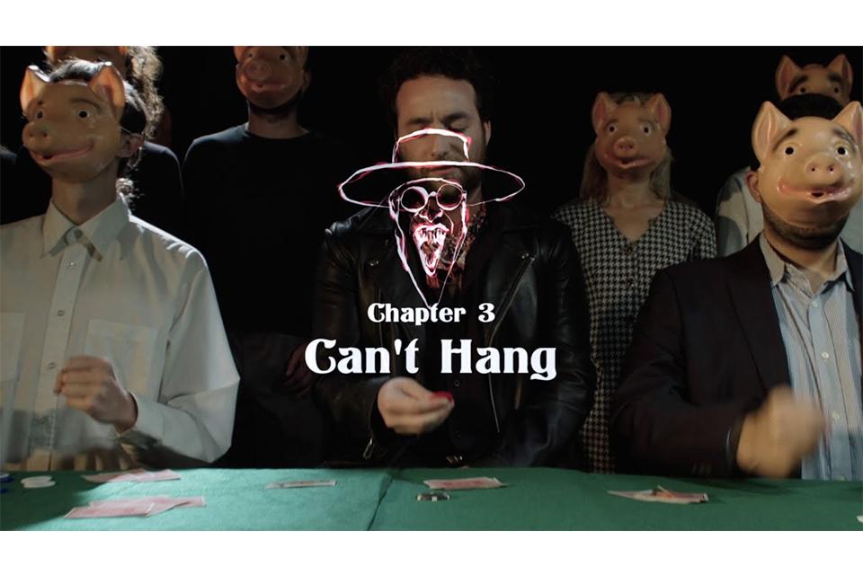 サミー・ヘイガー&ザ・サークルが新曲「Can't Hang」のミュージック・ビデオを公開