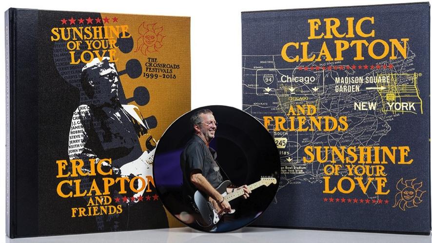 祝来日! エリック・クラプトンのアナログ・レコード付豪華写真集が極少数、再入荷。特別販売がスタート!