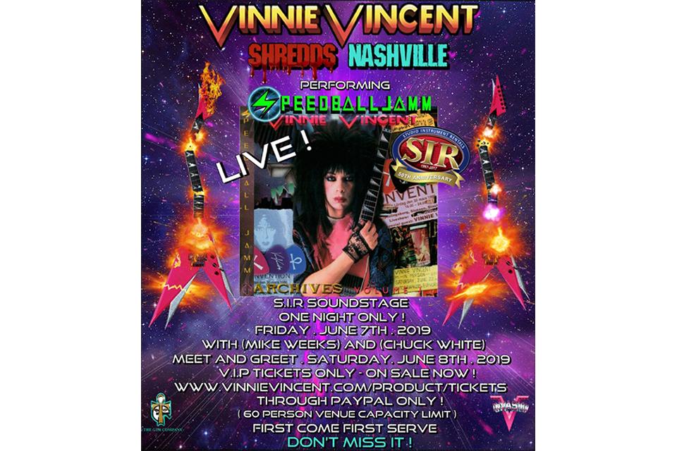 元KISSのヴィニー・ヴィンセント、復活コンサートを再々キャンセル