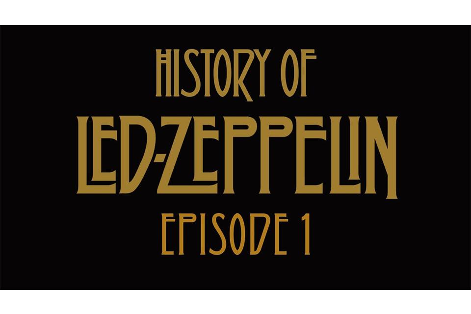 レッド・ツェッペリンの50年史を短編動画で描く〈YouTube〉シリーズがスタート