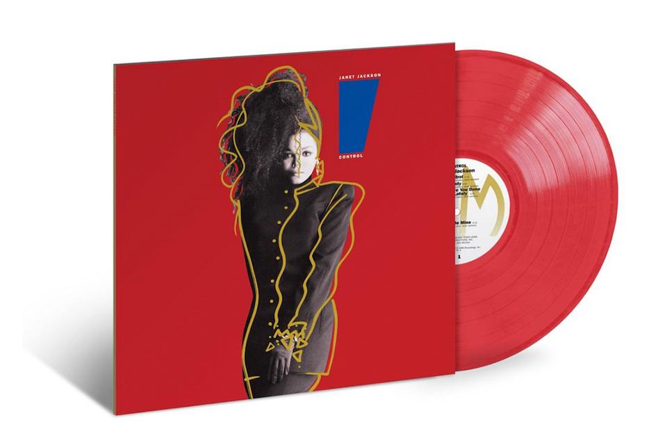 ジャネット・ジャクソンのアルバム『Control』がアナログ盤でリイシュー