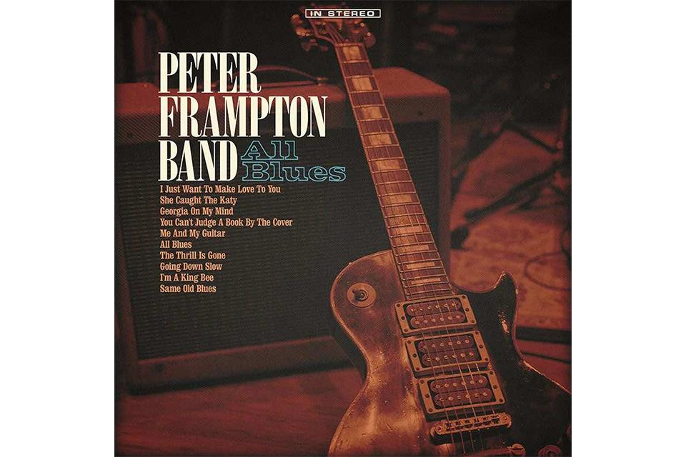 ピーター・フランプトンがブルースのカヴァー・アルバムをリリース