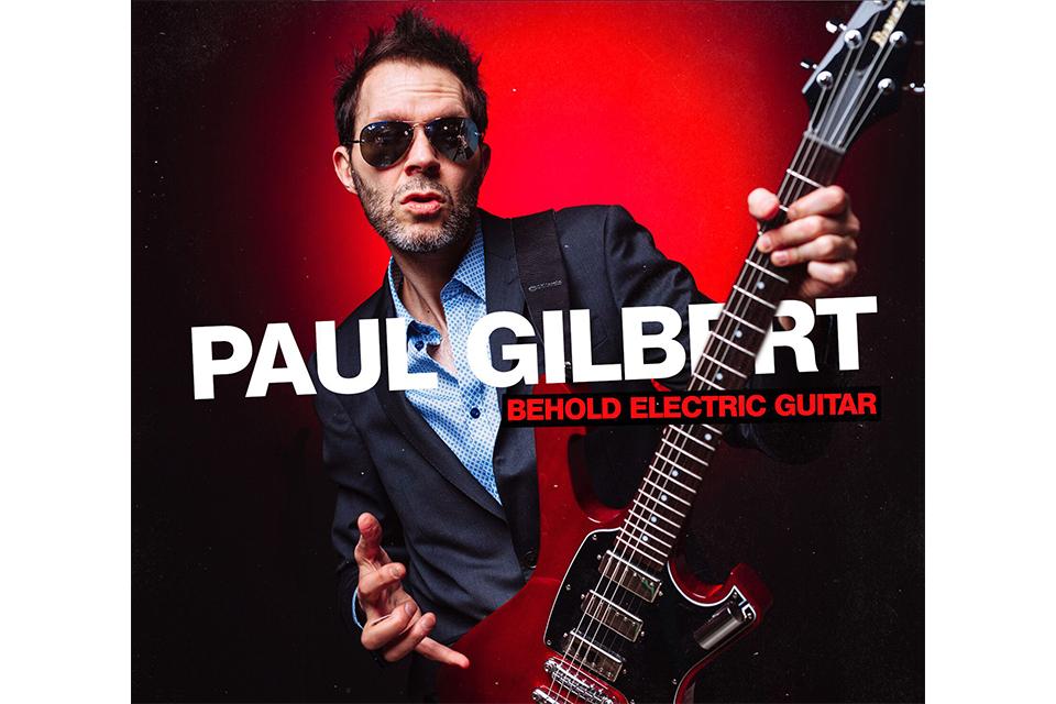 ポール・ギルバート、約3年振りとなるスタジオ新作、6月26日に日本盤でリリース!