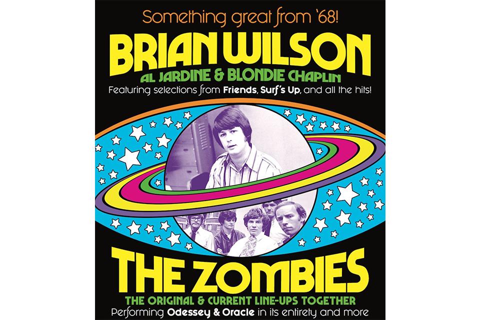 ブライアン・ウィルソンとザ・ゾンビーズが北米ジョイント・ツアーを発表
