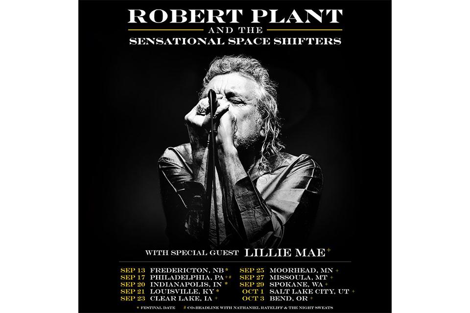 ロバート・プラントが北米ツアーの日程を発表