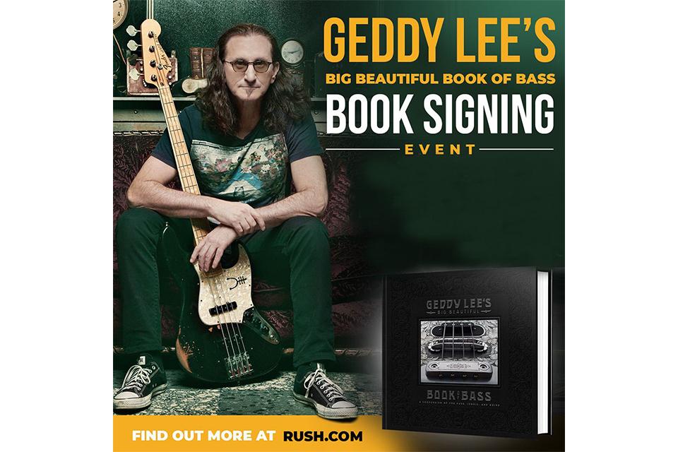 ゲディ・リーが本のプロモーション・ツアーを発表
