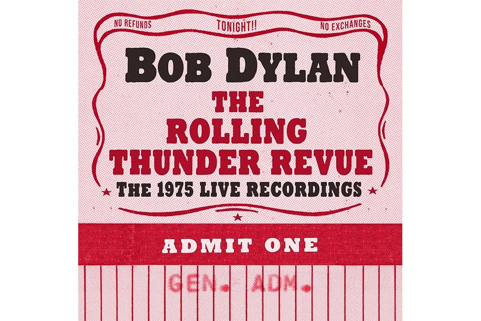 ボブ・ディラン『ローリング・サンダー・レヴュー:1975年の記録』14枚組ボックスセット、6/7発売!