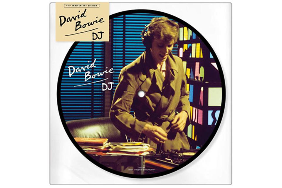 デヴィッド・ボウイの「D.J.」、7インチ・ピクチャー・ディスクが発売