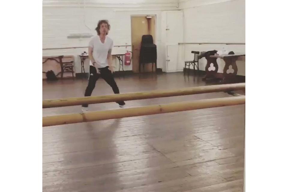 ミック・ジャガーがダンス姿を公開