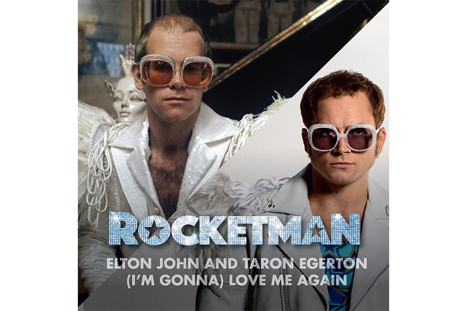 話題の『ロケットマン』サウンドトラックから、エルトン・ジョン&主演俳優タロン・エガートン共演の新曲、先行リリース