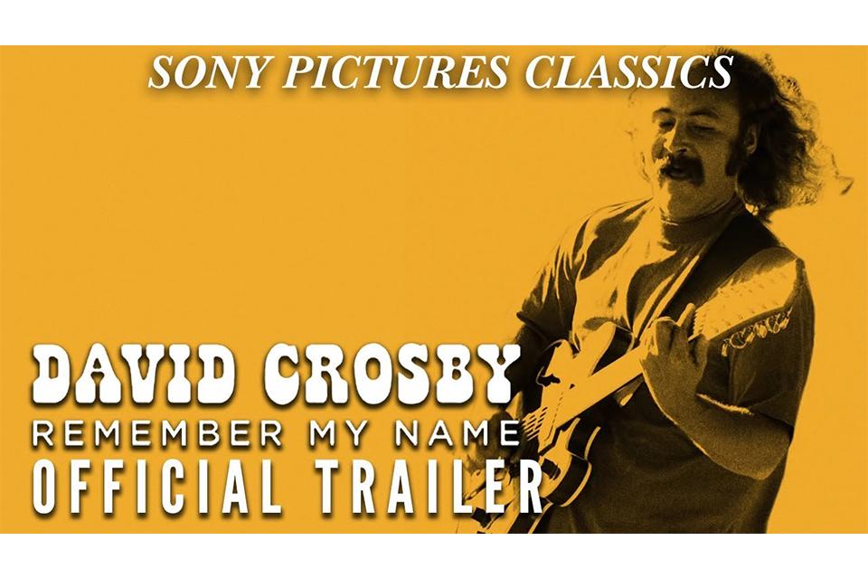 デヴィッド・クロスビーの新しいドキュメンタリー『David Crosby: Remember My Name』、トレーラー映像が公開
