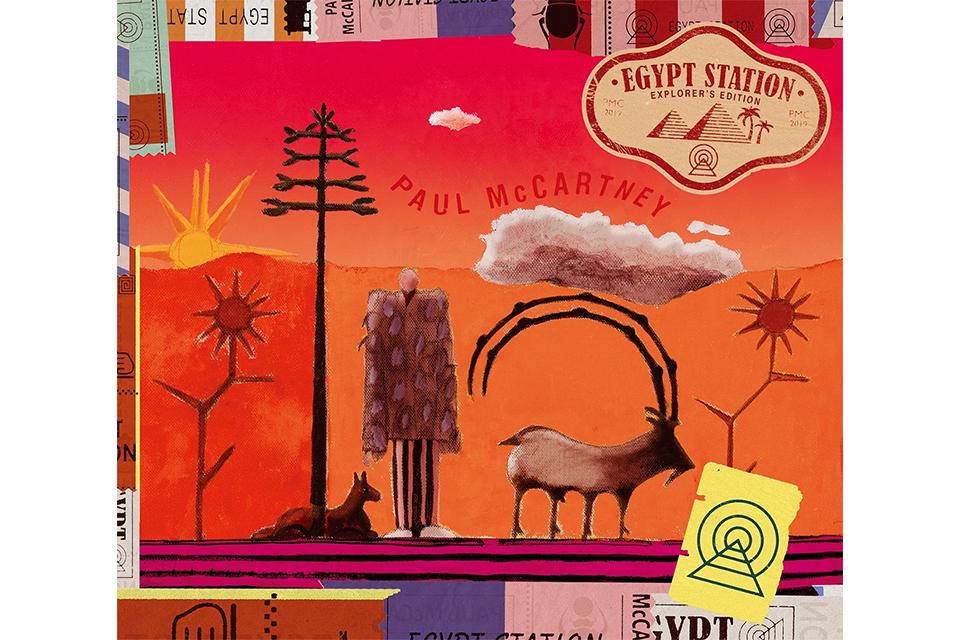 ポール・マッカートニー『エジプト・ステーション』の2CDデラックス盤が発売
