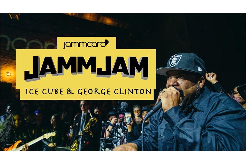 ジョージ・クリントンがアイス・キューブと「That New Funkadelic」で共演