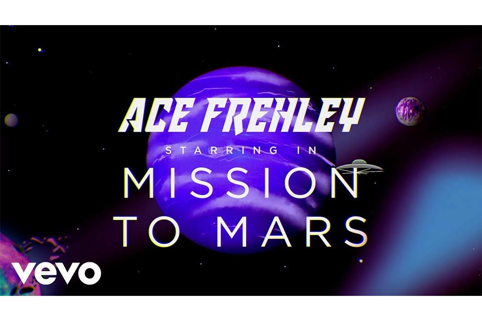 エース・フレーリーが「Mission To Mars」のミュージック・ビデオをリリース