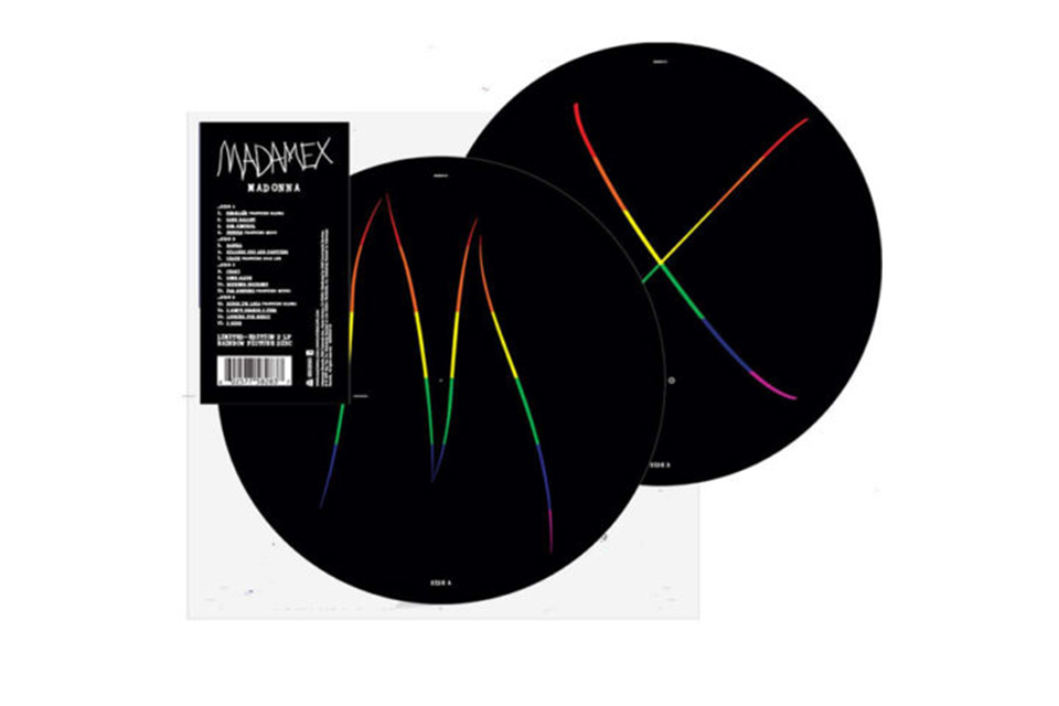 マドンナの新作『マダムX』、チャリティ用の2枚組ピクチャー・ディスクが発売
