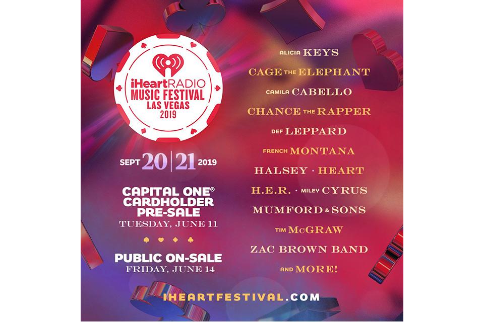 ハートが〈iHeartRadio ミュージック・フェスティバル〉に出演