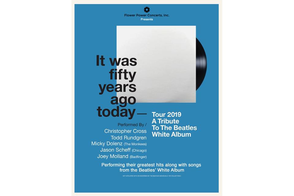 ビートルズ『ホワイト・アルバム』50周年記念トリビュート・ツアーにトッド・ラングレンやクリストファー・クロスが出演