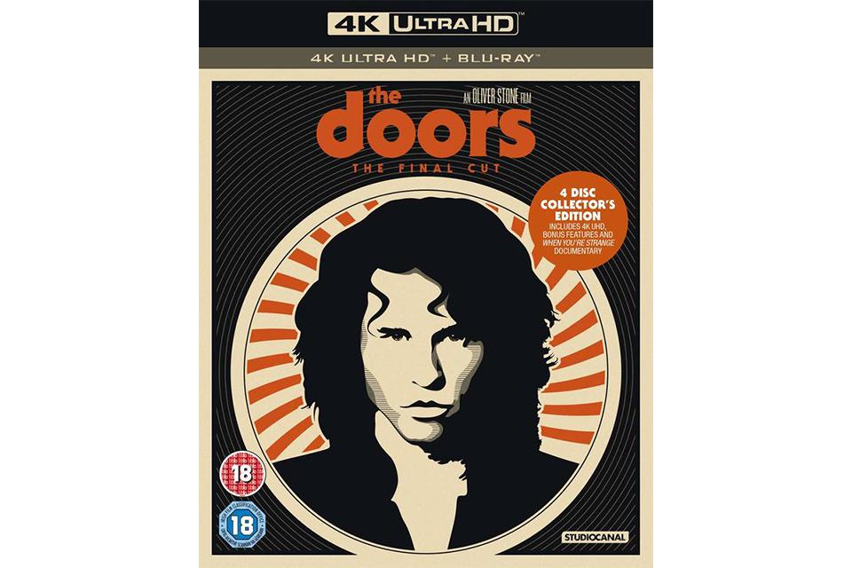 映画『ザ・ドアーズ』の4Kレストア版がウルトラHDブルーレイで発売