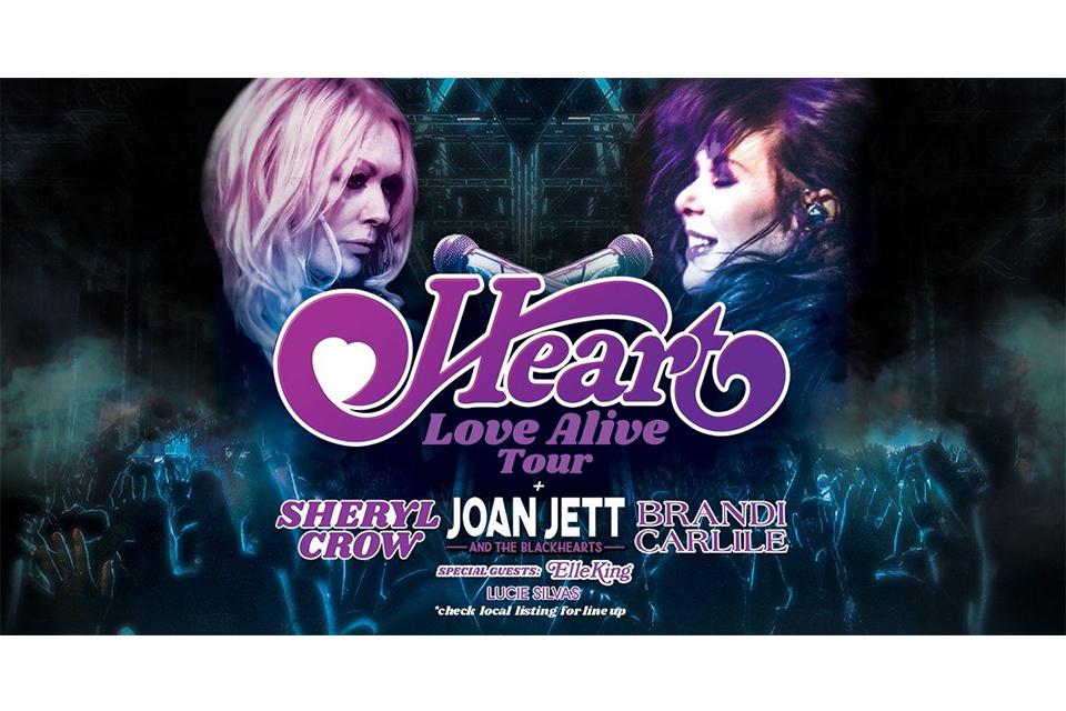 ハートの〈Love Alive〉ツアーがスタート