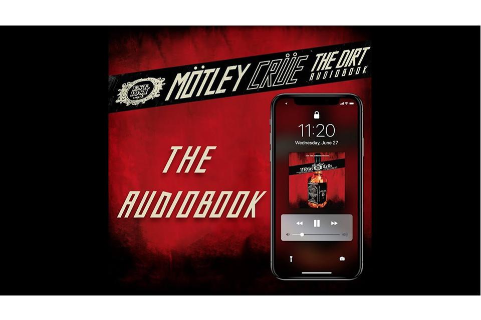 モトリー・クルーの自伝本『The Dirt』がオーディオ・ブックで発売