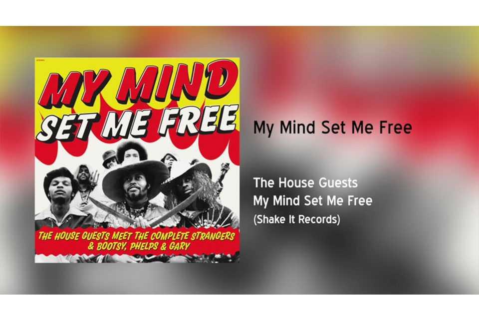 ブーツィー・コリンズ70年代初期のバンド、〈ハウス・ゲスツ〉のアルバムがリリース