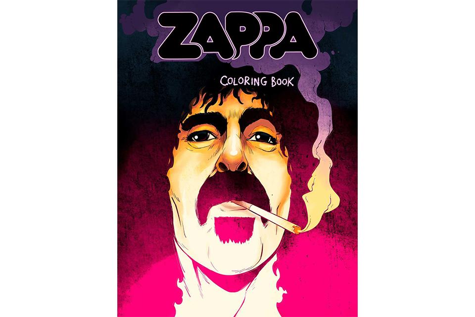 フランク・ザッパの塗り絵本が発売