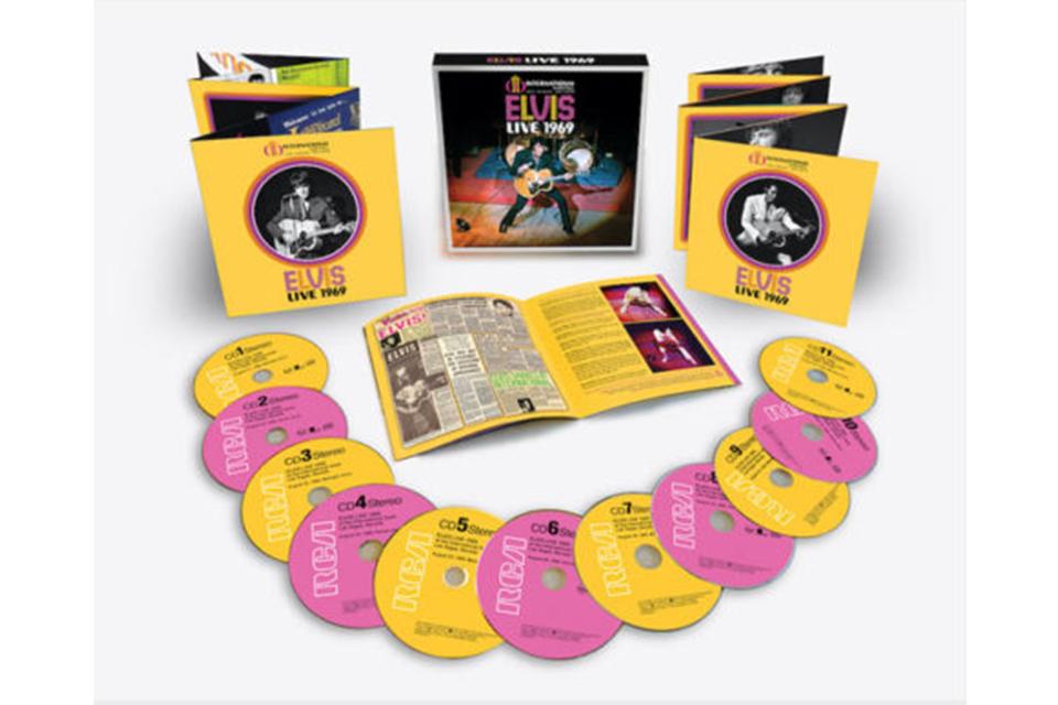 エルヴィス・プレスリー1969年のラスベガス公演とメンフィスでのセッションを収録した3作品がリリース