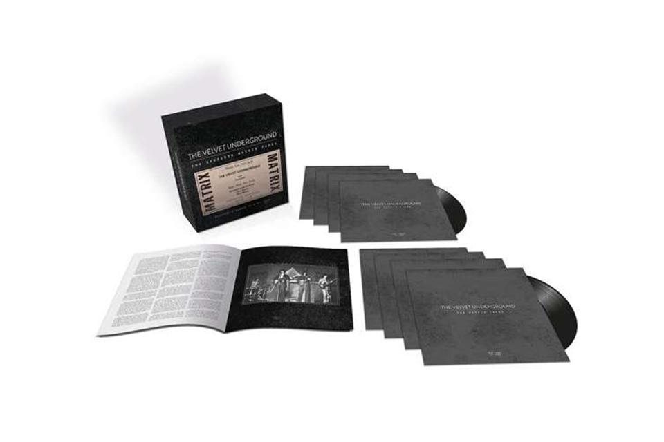 ヴェルヴェット・アンダーグラウンド、1969年の『The Complete Matrix Tapes』が初めてLPでリリース