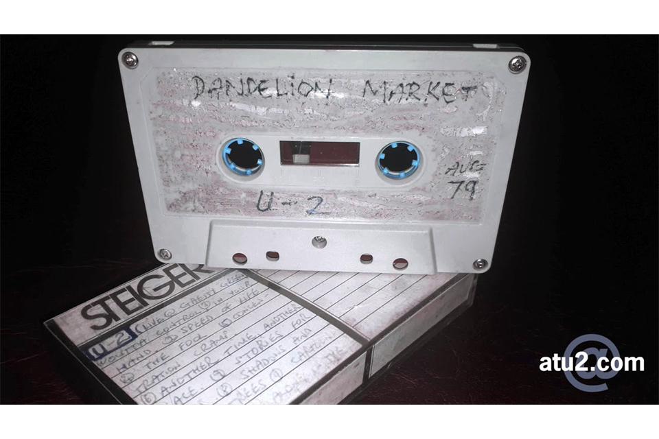 U2最古のライヴ音源から未発表曲のサンプル音源が試聴可能に