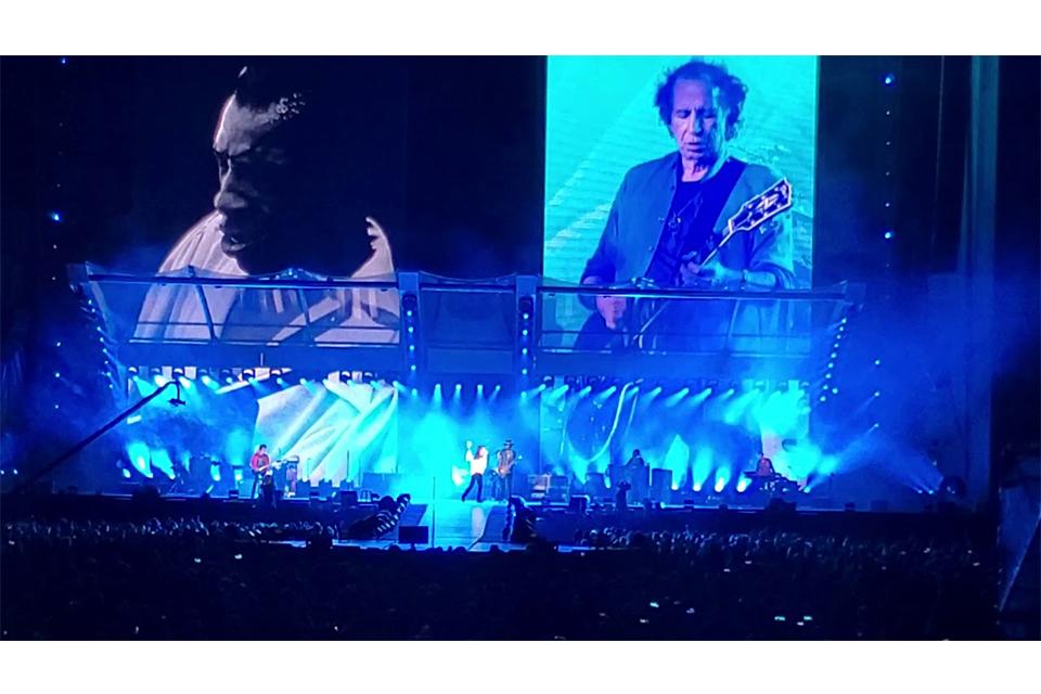 ストーンズとゲイリー・クラーク・ジュニアがステージで共演