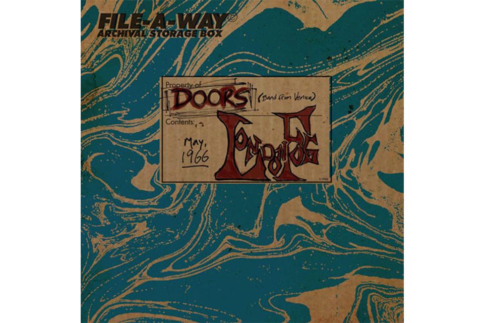 ドアーズのライヴ・アルバム『London Fog 1966』が単独CDで発売