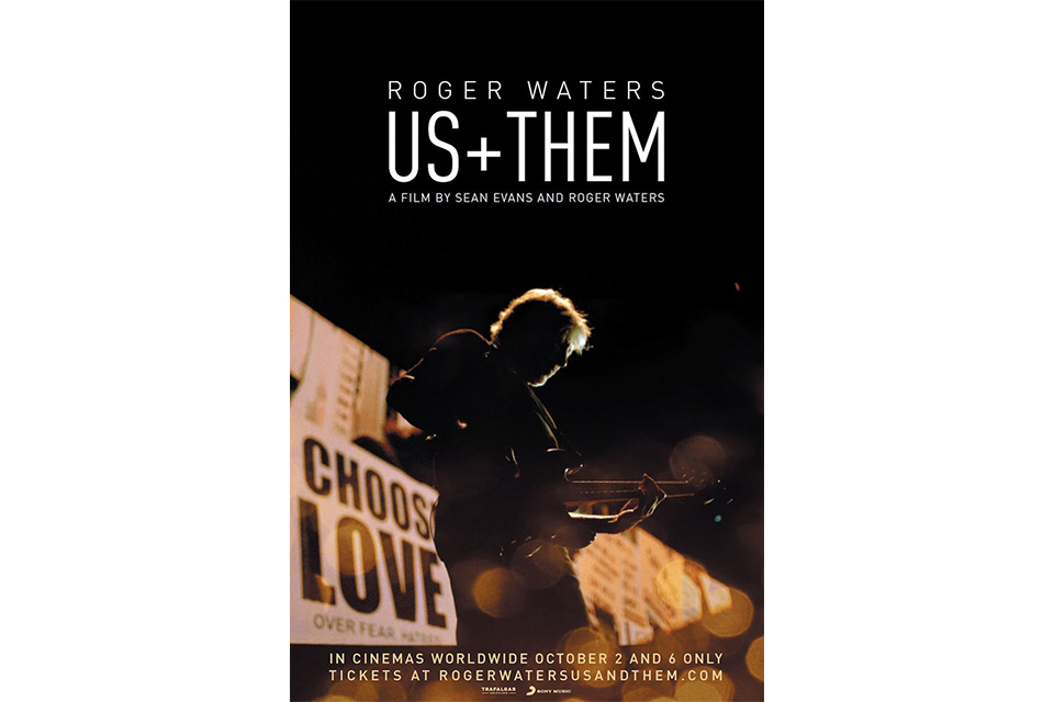 ロジャー・ウォーターズのコンサート映画「Us + Them」が10月公開
