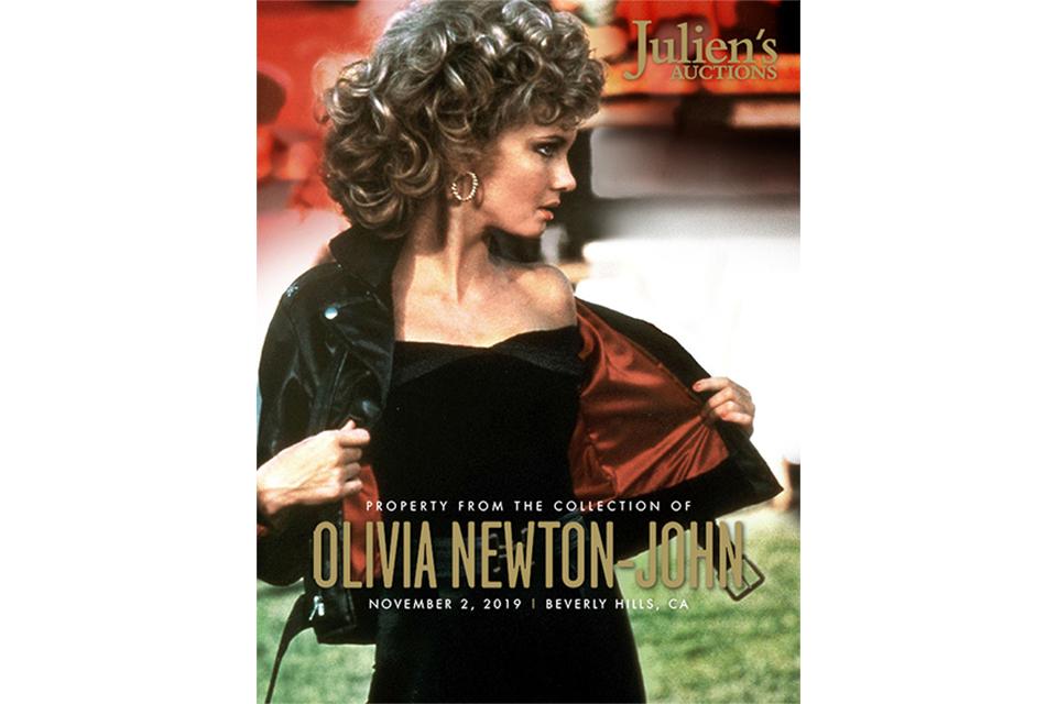 オリヴィア・ニュートン=ジョンが200以上のアイテムをオークションに