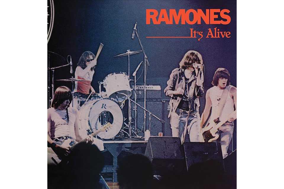 ラモーンズの『It's Alive』40周年記念エディション発売