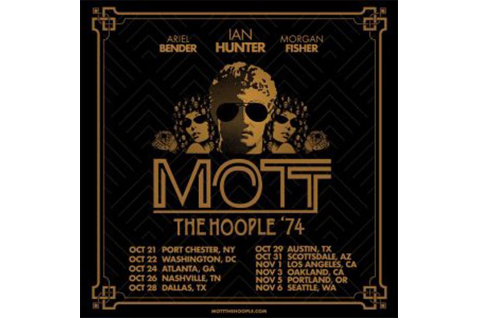 モット・ザ・フープル'74が秋のUSツアーを発表