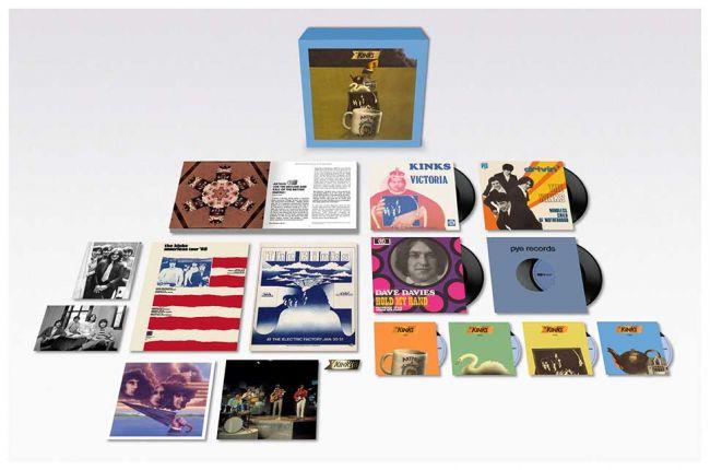 キンクスのアルバム『Arthur』50周年記念デラックス・ボックスセット、10月に発売決定
