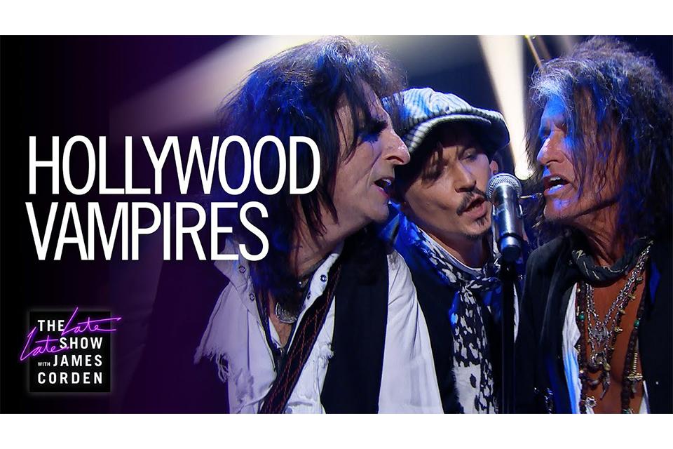 ハリウッド・ヴァンパイアーズ、米テレビ番組で「ヒーローズ」をライヴ演奏