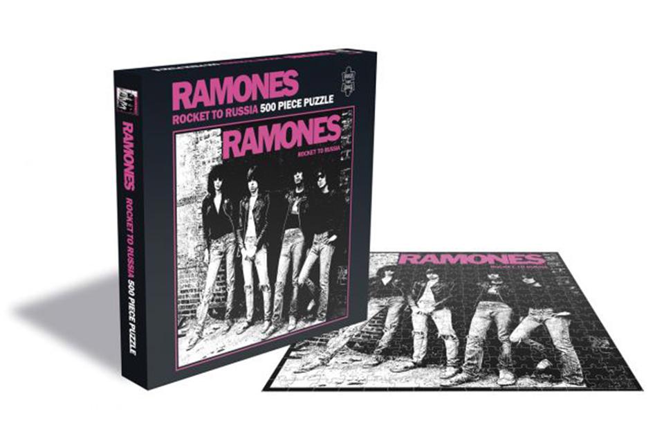 ラモーンズ、3枚のアルバム・カヴァーがジグソーパズルに