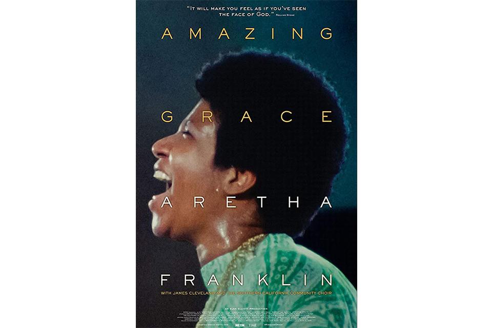 アレサ・フランクリンのドキュメンタリー『Amazing Grace』がDVDで発売