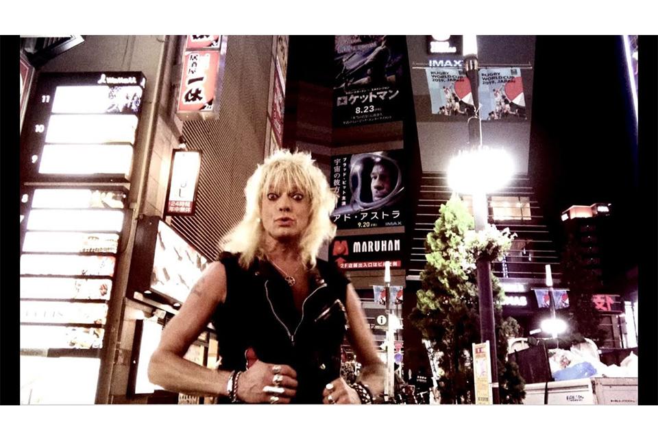 マイケル・モンローが日本で撮影した新曲「Last Train To Tokyo」のビデオを公開