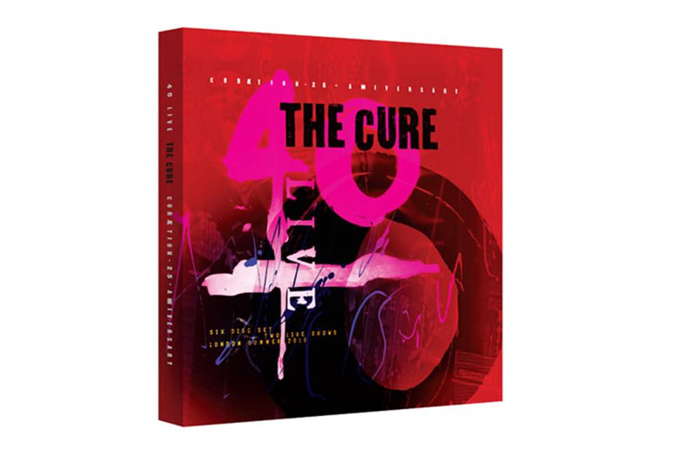ザ・キュアーの40周年記念コンサートを収録したデラックス・ボックスセットが10月発売