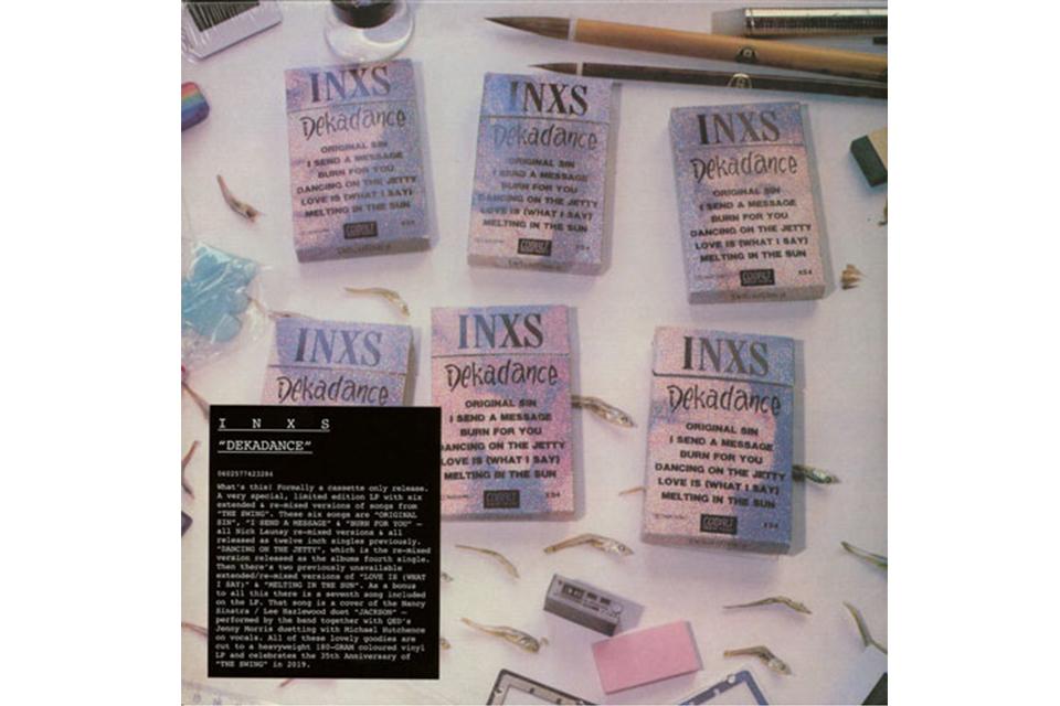 INXSの『Dekadance』が初めてアナログ盤でリリース