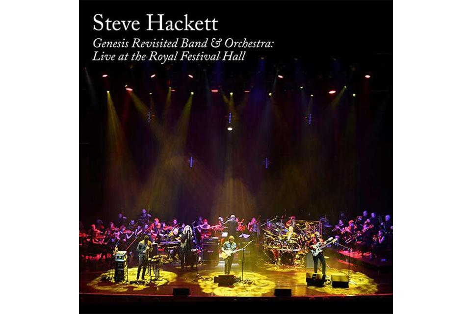 スティーヴ・ハケットがオーケストラとのライヴ・アルバムをリリース
