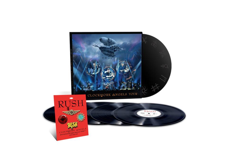 ラッシュのライヴ・アルバム『Clockwork Angels Tour』が5枚組LPでリイシュー