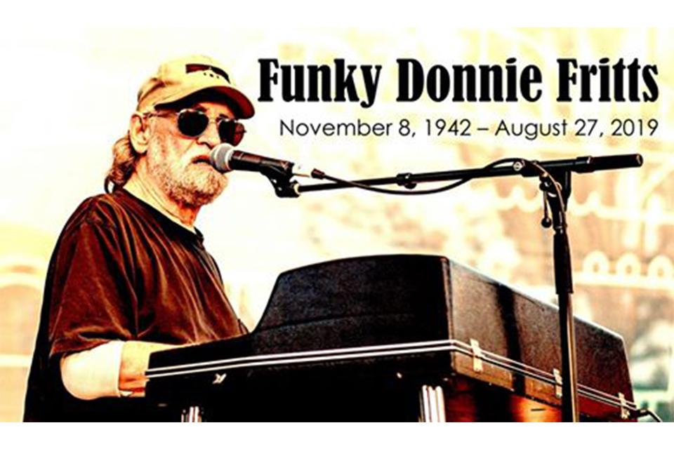 南部のベテラン・ソングライター/シンガー/ミュージシャンのドニー・フリッツが76歳で死去
