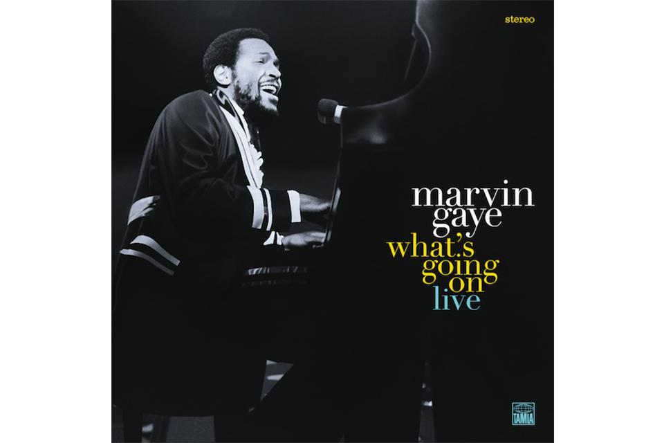 マーヴィン・ゲイ、名盤『ホワッツ・ゴーイン・オン』のライヴ盤が10月にリリース決定!