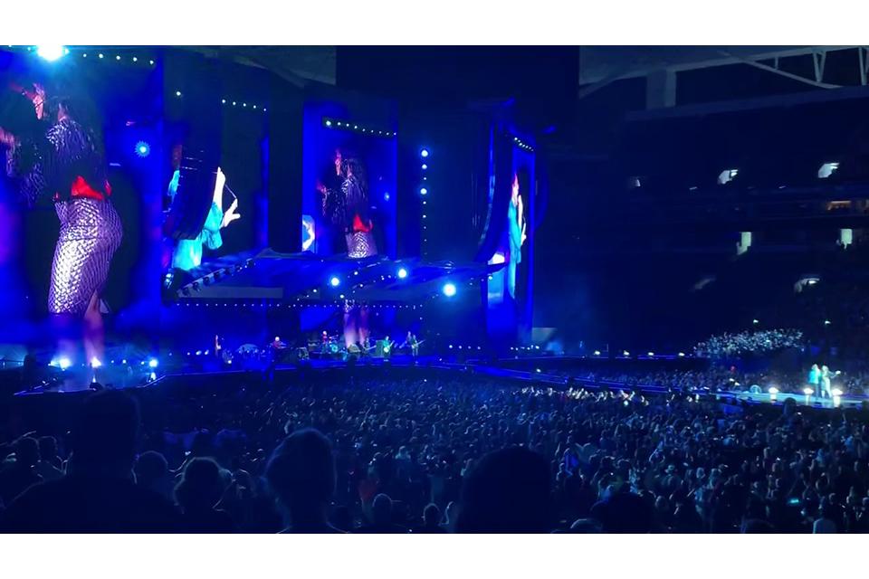 ローリング・ストーンズ北米ツアー最終公演から「Gimme Shelter」のライヴ映像公開