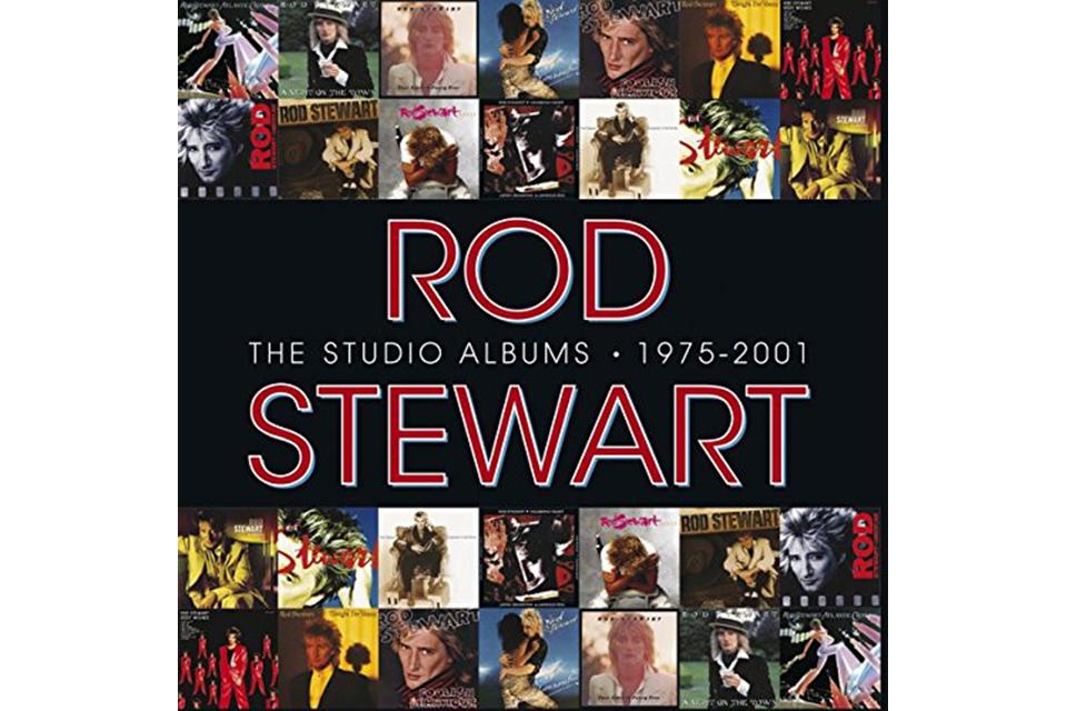 ロッド・スチュワート、ワーナー時代のアルバム14枚のCDボックス・セットが、9月13日発売!