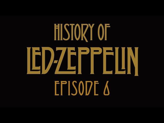 レッド・ツェッペリンの50年史を描いた短編動画シリーズ「エピソード6」公開