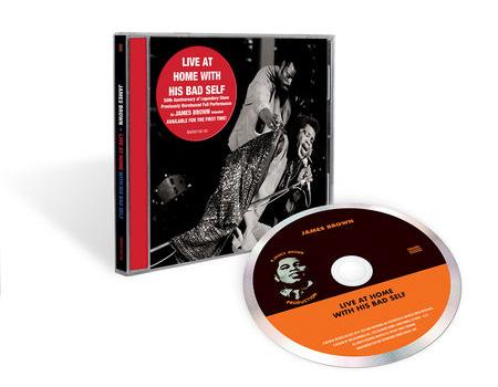 ジェームス・ブラウン、歴史的コンサートのライヴ・アルバム発売